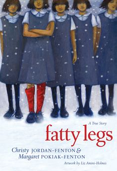 Fatty Legs, by Christy Jordan-Fenton and Margaret Pokiak-Fenton: Margaret, a First Nations girl, goes to school to learn how to read. Can she outsmart the prejudiced teacher standing in her way? Read with mom finished Nov.