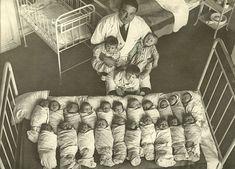 La o maternitate bucureșteană. Foto Iosif Berman