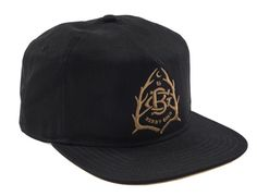 Out Here Snapback Cap by BENNY GOLD