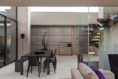 dining interior open plan big modern house