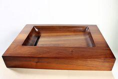 Holz Waschbecken HRANO