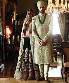 104 best Sabyasachi Sherwani photos by Indian Wedding Theme, Indian Wedding Outfits, Bridal Outfits, Indian Outfits, Indian Weddings, Wedding Mehndi, Indian Party, Engagement Outfits, Punjabi Wedding