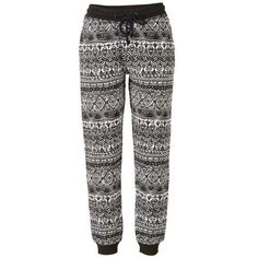 Wellnesshose mit All-Over Print