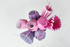 DIY:  Make a Bunch of the Prettiest Paper Flowers tutorial