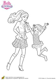 Barbie and her sisters in a Pony Tale coloring pages Barbie Coloring Pages, Dinosaur Coloring Pages, Horse Coloring Pages, Coloring Pages For Girls, Flower Coloring Pages, Colouring Pages, Coloring Books, Kids Coloring, Coloring Sheets