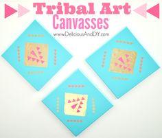 Tribal Art Canvas -