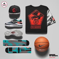 The Hook Up: #Nike KD 'Flight' Tee x Snapback x Elite Socks. Available in stores and online at footlocker.com.