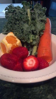 Strawberry Orange Sunshine [Juice Recipe]