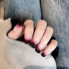 Acrylic Nail Tips, Cute Acrylic Nail Designs, Long Acrylic Nails, Nail Tip Designs, Nails Design, Fake Nails With Glue, Glue On Nails, Cute Nails, Pretty Nails