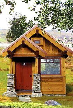 A Craftsman Style Tiny House