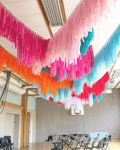 Ceiling Decor, Streamers, Tapestry, Home Decor, Hanging Tapestry, Tapestries, Decoration Home, Room Decor, Paper Streamers