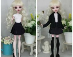 Vestido de Monster High/EAH Blythe Azone pure por ElenaShowRoom
