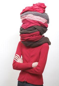 Human Totem – Olivier Chabanis Winter Hats, Fashion, Contemporary Photography, Moda, Fashion Styles, Fashion Illustrations