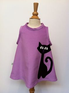 Space Cat Dress by sastirosielife on Etsy
