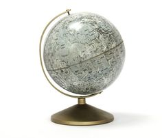 wow! a Vintage Moon Globe. I wonder how much more we know about the Moon now, compared to when this was made :)