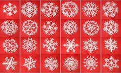 Tutorial fiocchi di neve di carta – Lapappadolce