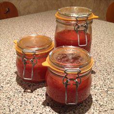 Sauce tomate - stérilisation 2016