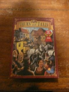 Thurn and Taxis with All Roads Lead to Rome Expansion