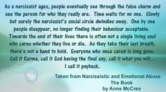 The Ageing Narcissist – Narcissistic and Emotional Abuse