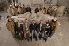 The Traditional Cut Stone Team and their masterpiece. Check it out in Issue No.3! http://artisanalspecs.blogspot.com/2012/08/written-in-stone-richard-carbino-talks.html