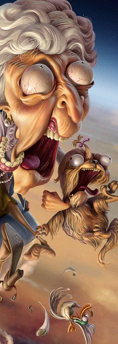by Oscar Ramos, via Behance Art And Illustration, Character Illustration, Illustrations, Cartoon Pics, Cartoon Art, Bild Gold, Character Art, Character Design, Funny Caricatures