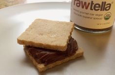 New raw, vegan shortbread cookies. Try 'em with Rawtella.