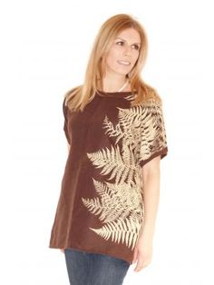 Bio-Tunika Farnzauber Fair Trade, Tunic, Curve Dresses, Women's, Fair Trade Fashion