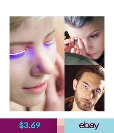 5fb6bcfe9fa Details about Light emitting false eyelashes eyelid eyelashes with LED  voice activated lights | girls just wanna have fun | Fake eyelashes,  Waterproof led ...