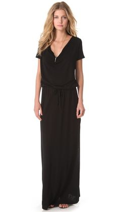Lanston Draped Maxi Dress