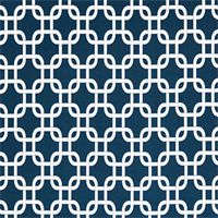Gotcha Oxford Blue Geometric Outdoor Fabric by Premier Prints
