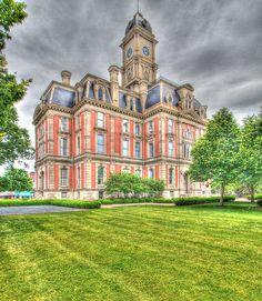 Hamilton County Courthouse, Noblesville, Indiana