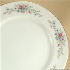 Mom bought this china one peice at a time for my hope chest when she bought groceries at Kroger.  sc 1 st  Pinterest & Mainstays Cherry Dinner Plates Set of 4 | eBay | Rockabilly Rehab ...