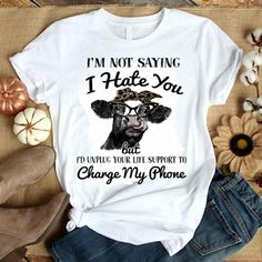 Just Like My Nana Toddler//Kids Sporty T-Shirt Im Going to Love Cows When I Grow Up