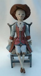 The finest museum quality reproductions and restorations of and century English wooden dolls Children's Toys, Doll Toys, Kids Toys, Wooden Figurines, Wooden Dolls, Antique Dolls, Vintage Dolls, Clothespin Dolls, China Dolls