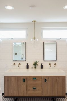 """The """"Darkly Dreary to Modern Minimal"""" Master Bedroom Makeover — Renovation Project. The bathroom is my favorite part!"""