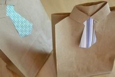 Fathers Day Gift Bags DIY Fathers Day Gift Bags