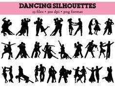Popular items for dancer silhouette on Etsy