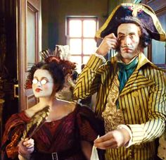 Helena Bonham Carter + Sacha Baron Cohen - funniest characters in the whole film