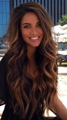 New Hair Goals Balayage Beautiful 49 Ideas Front Hair Styles, Curly Hair Styles, Hair Front, Lace Hair, Pretty Hairstyles, Long Hairstyles, Braid Hairstyles, Long Brunette Hairstyles, Volume Hairstyles