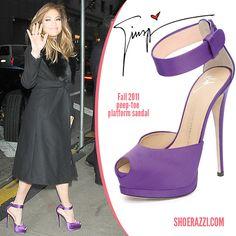 Jennifer Lopez in Giuseppe Zanotti - ShoeRazzi via Polyvore