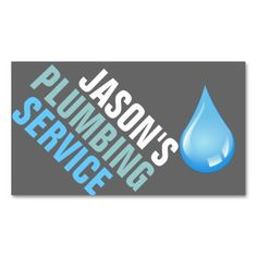 Plumbing Plumber Faucet Water Handyman Maintenance Business Card. I love this design! It is available for customization or ready to buy as is. All you need is to add your business info to this template then place the order. It will ship within 24 hours. Just click the image to make your own!