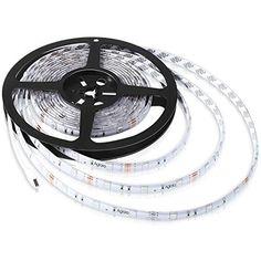 Aglaia Ruban Lumineux LED RGB 5M, Bande LED RGB avec 150 Unités 5050 SMD LEDs, Étanche IP65 et Kit Complet avec IR Télécommande de 24 Touches, Idéal pour Décorations de Maison, Cuisine, Boum et Bricolage, http://www.amazon.fr/dp/B017N8U3OY/ref=cm_sw_r_pi_s_awdl_G4qMxb0G6YX05