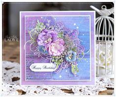 Scrap Art by Lady E: Cover card Simply Cards & Papercraft Magazine / Kartka z okładki