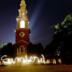 Love this place and the friend that snapped this photo. Reid Chapel at Samford University, by Tim Foote