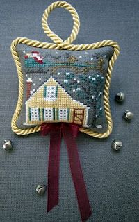 Stitching Dreams: Up On the Housetop