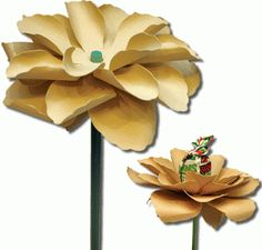 3d sucker and pencil flower by Jamie Cripps -Silhouette Design Store