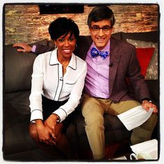 Regina King and Mo Rocca became fast friends in our Greenroom This Morning.