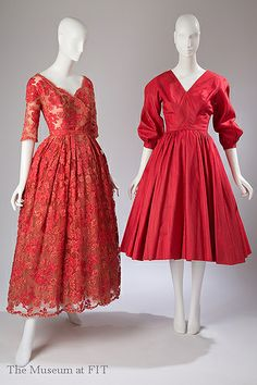 Christian Dior and Anne Fogarty 1950- 1954