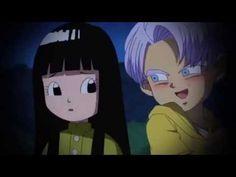 Trunks and Mai This past made me laugh so much Dragon Ball Z, Goku Dragon, Goten E Trunks, Vegeta And Trunks, Mai Dragonball, Trunks Y Mai, Akira, Fashion Art, Broly Movie