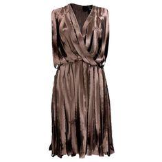 2004 Lanvin Satin Car Wash Goddess Dress
